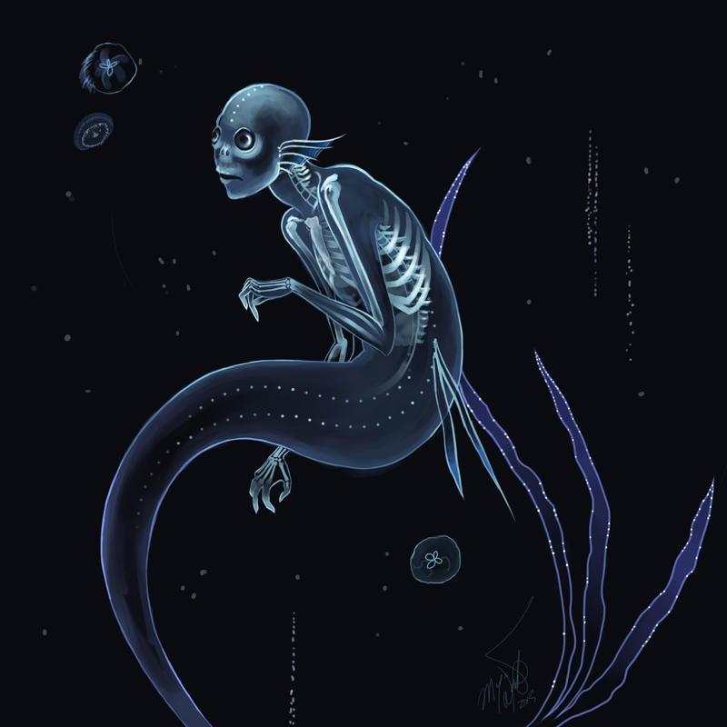 Deep sea mermaid by MeganMissfit on DeviantArt