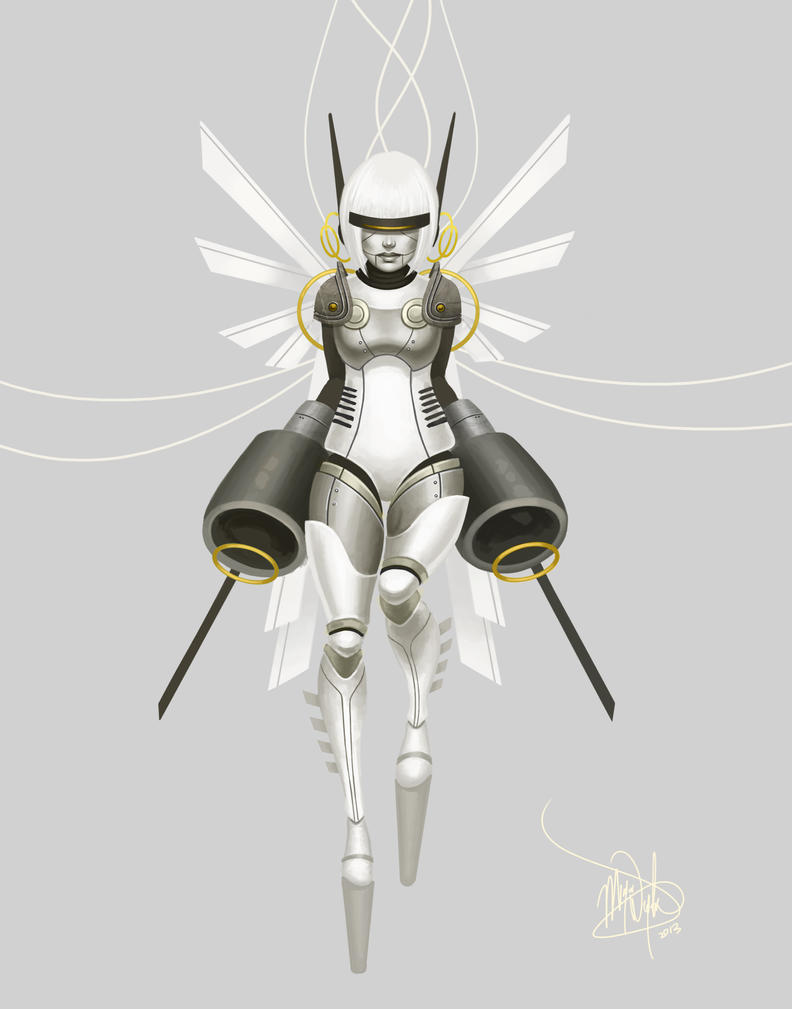 archangel by MeganMissfit