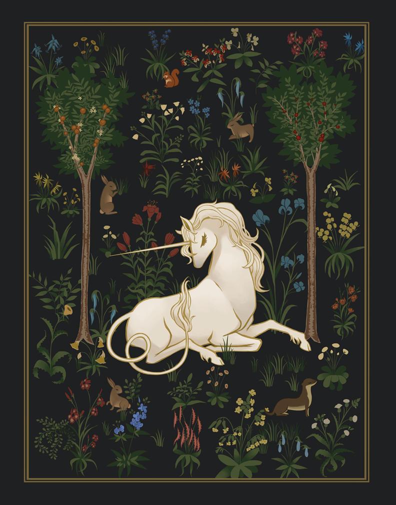 Unicorn Woods by MeganMissfit