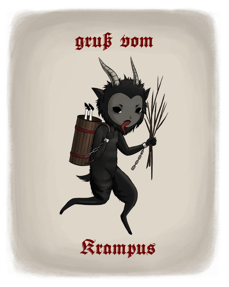 Merry Krampus! by MeganMissfit