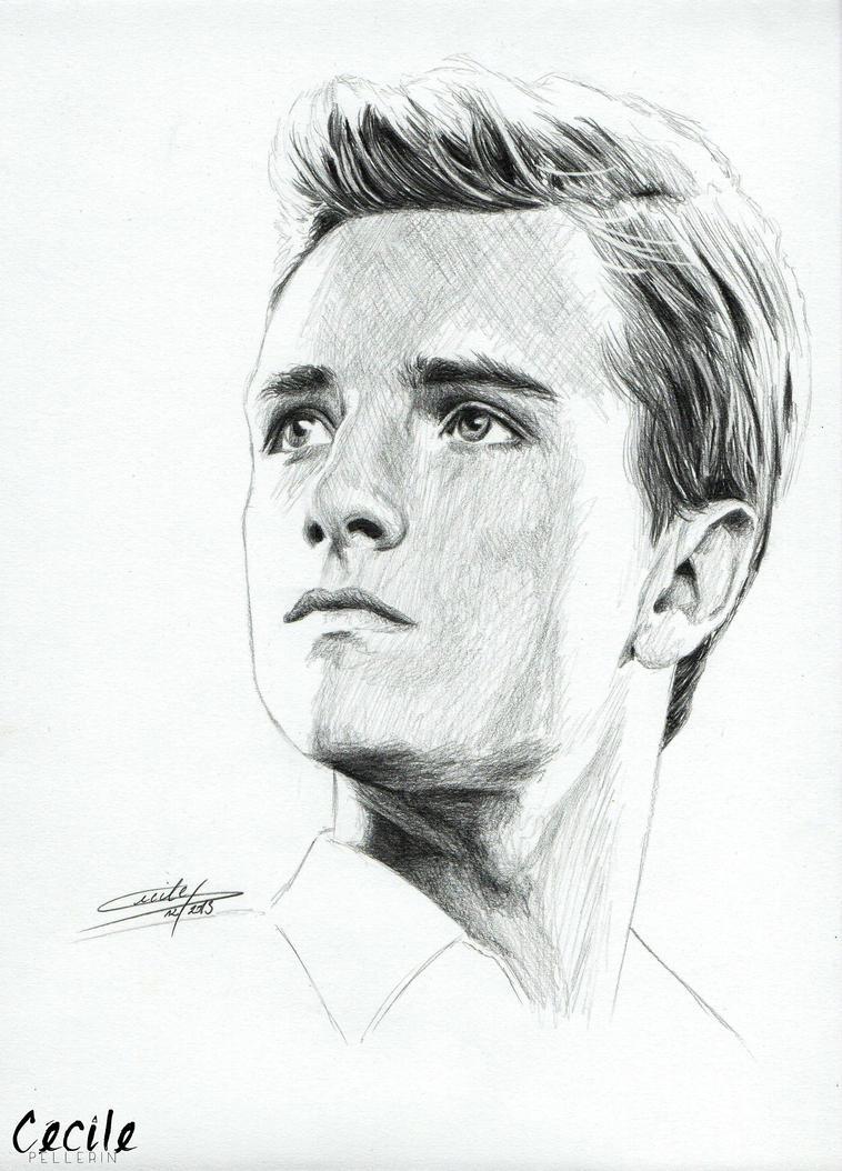 Hunger Games Peeta Drawing Josh Hutcherson...