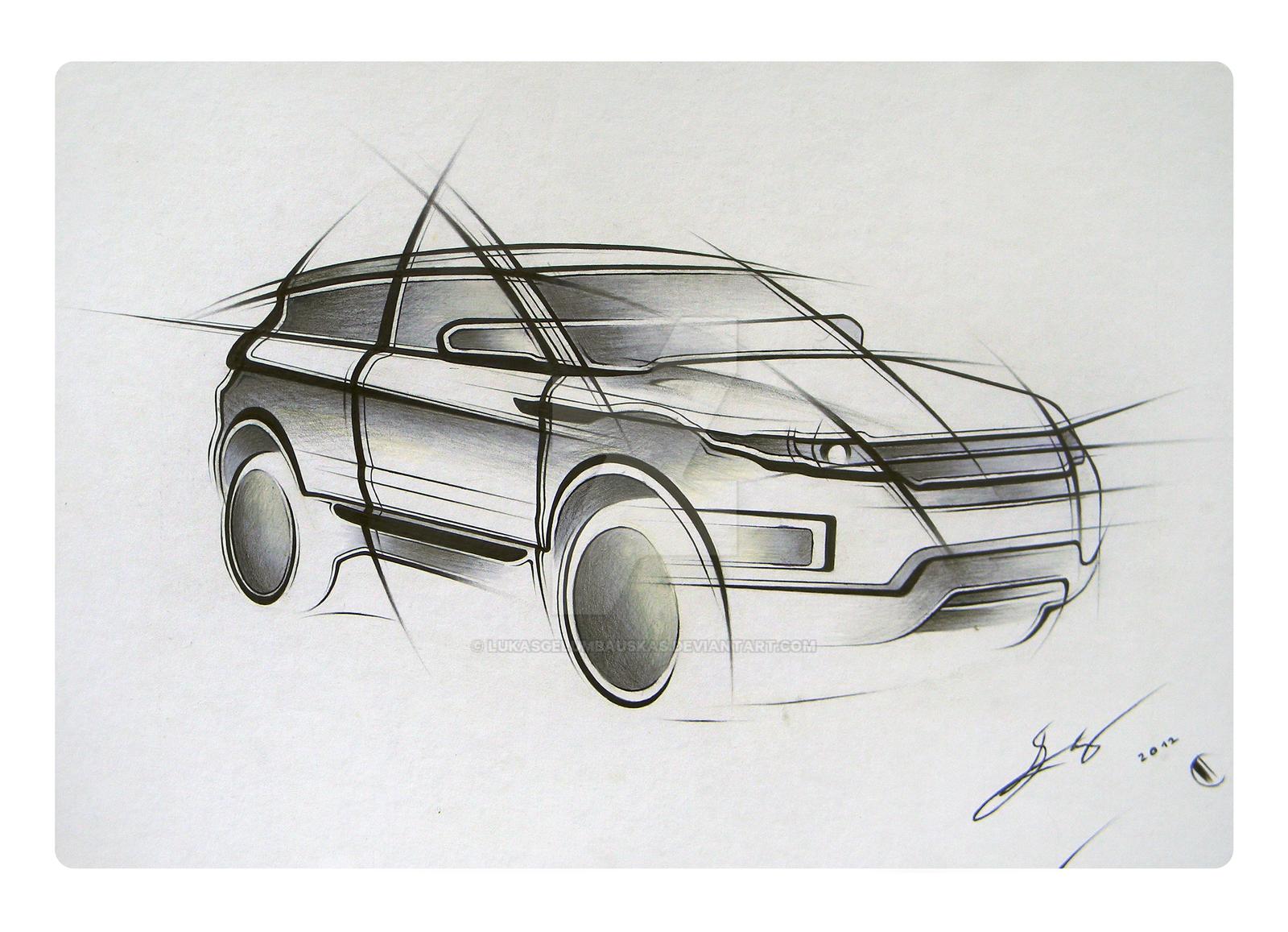 Range Rover Evoque by LukasGelumbauskas