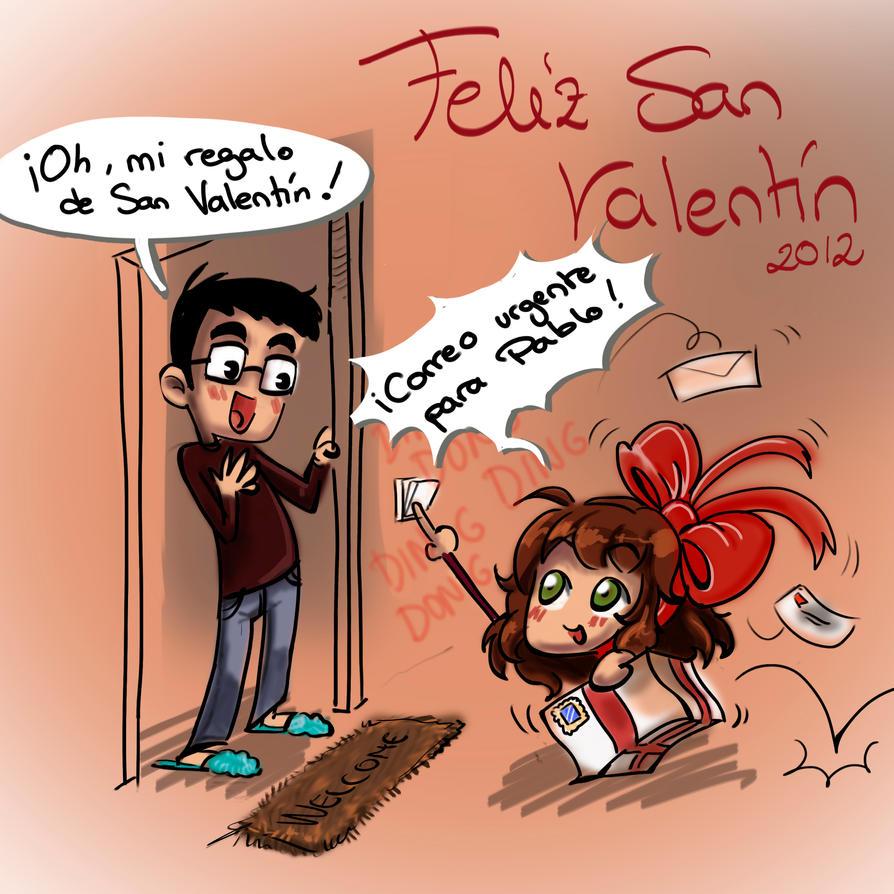 San Valentine Card 2012 By MariaAuroraRodriguez ...