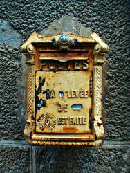 old mail box by nicelandscape