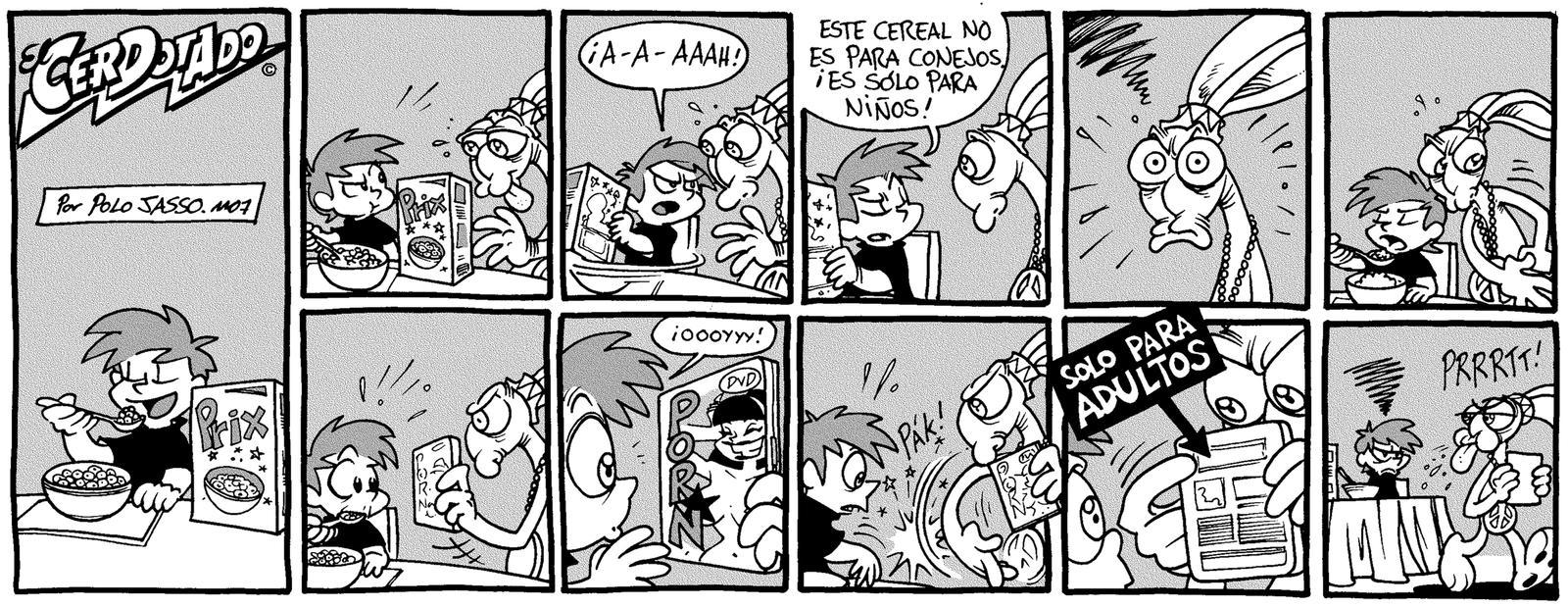 La venganza del conejo. by POLO-JASSO