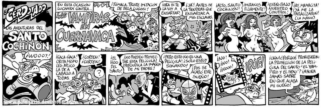 EL SANTO COCHINON. by POLO-JASSO