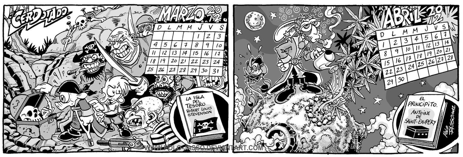Calendario Literario 2 by POLO-JASSO