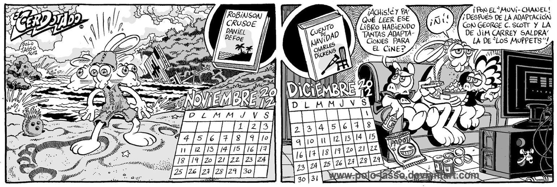 Calendario Literario 6 by POLO-JASSO