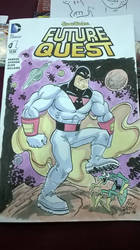 Space ghost Blank Cover