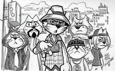 Don Gato y su pandilla de cholos by POLO-JASSO