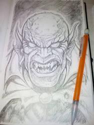 DEMON sketch by POLO-JASSO