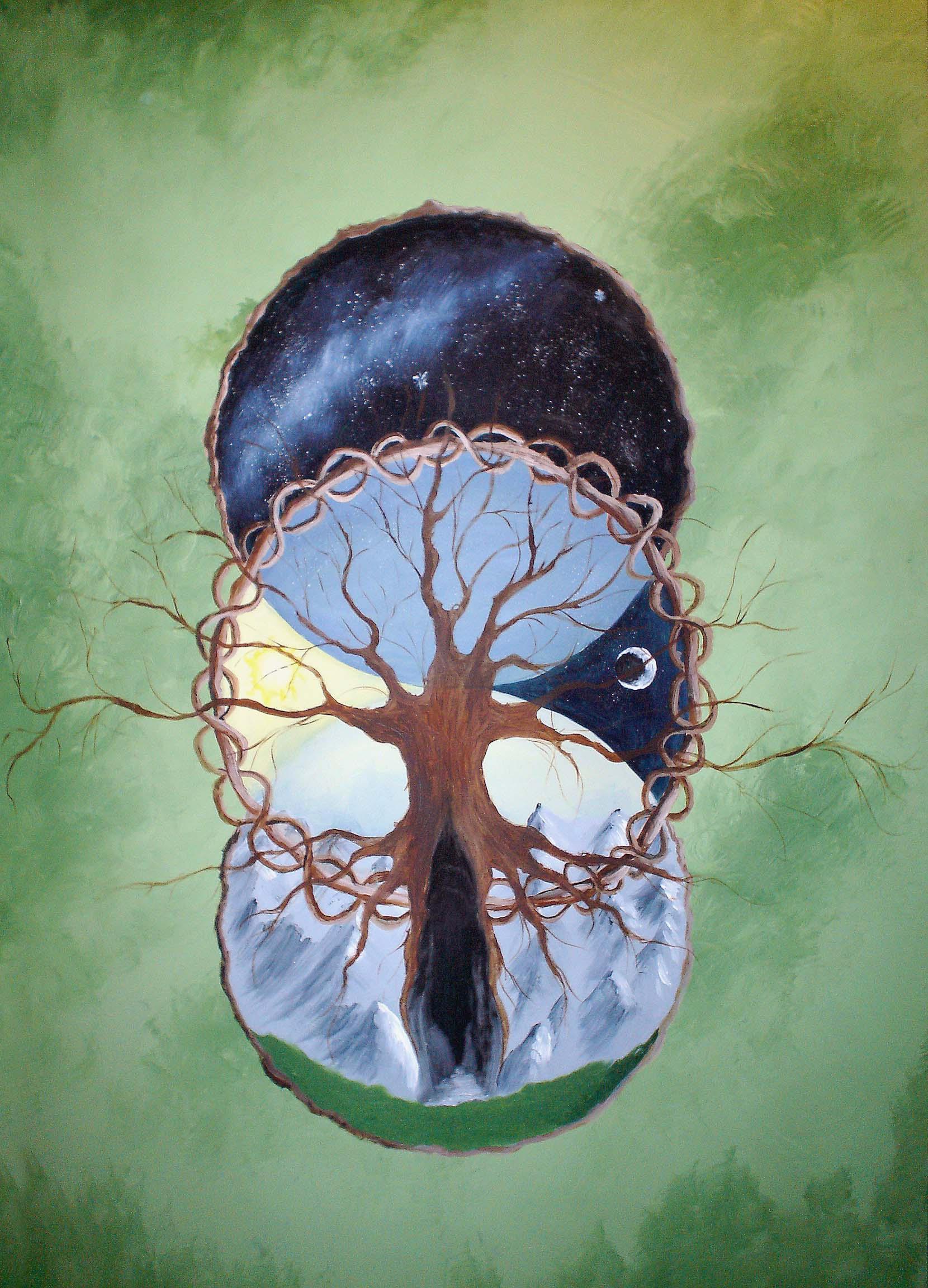 Celtic Tree Of Life By DruidCub