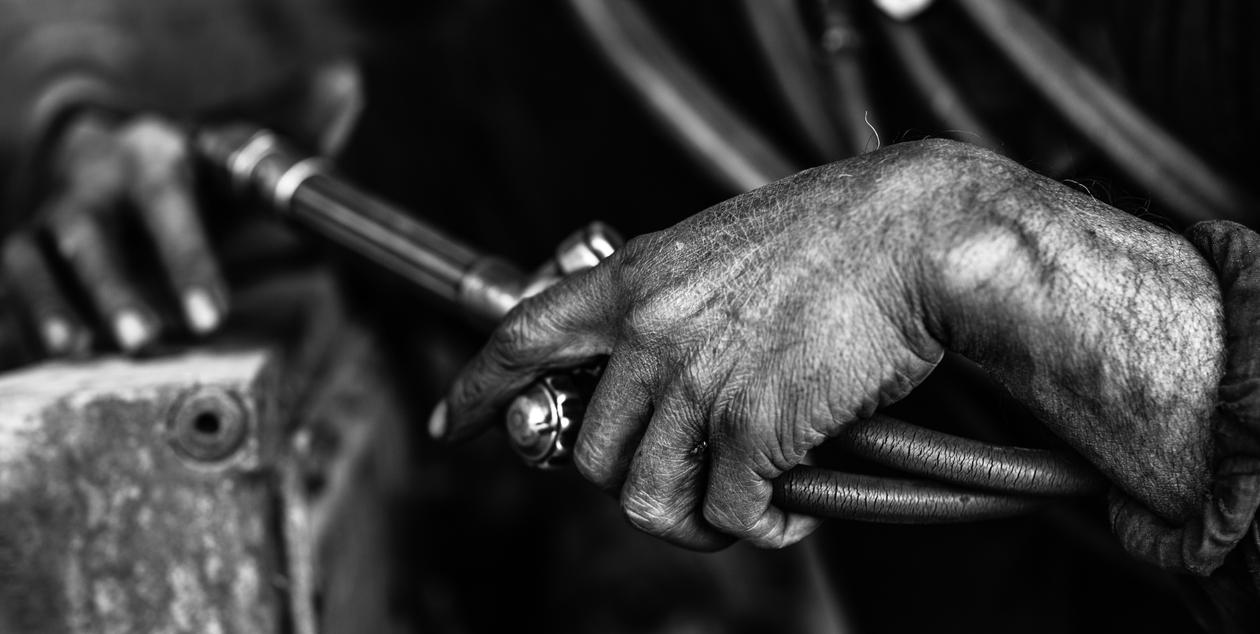 The Working Man by nnPhoto