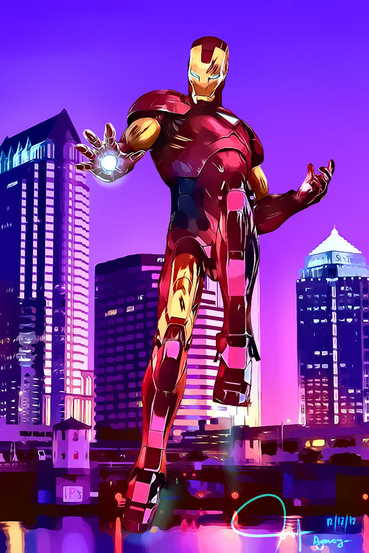 Iron man! by Raizel231