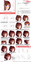 Hair Tutorial by xSanichi