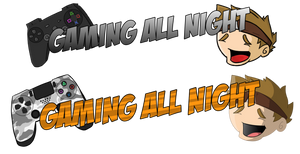 Logo Concept - Gaming All Night
