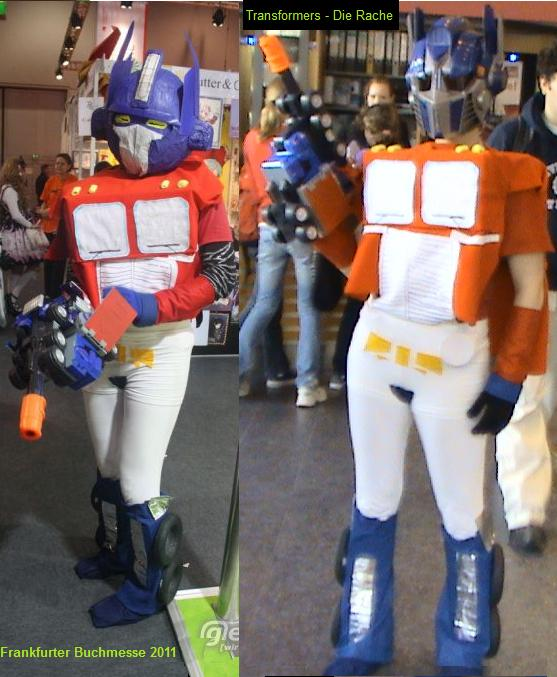TF Cosplays Optimus Prime by MOONFIGHT