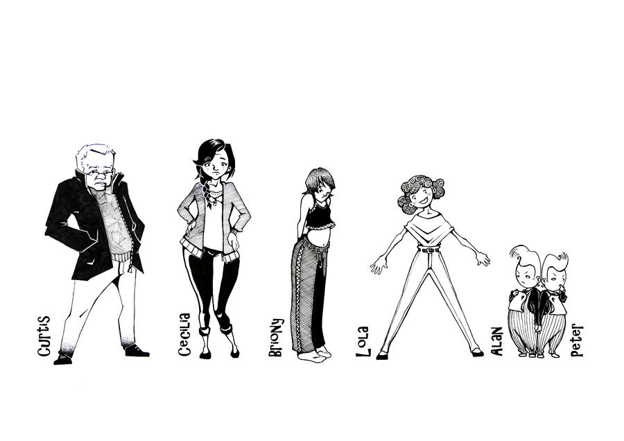 Character Design Mistakes : Just a mistake characters by pictoriocus on deviantart