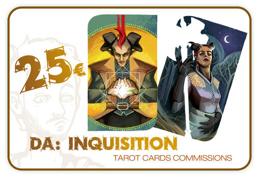 DA:I Tarot Cards Commissions available