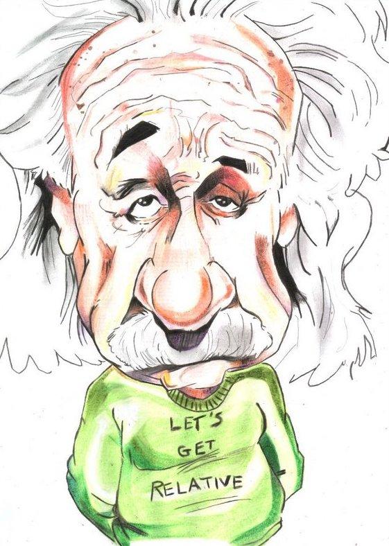 Albert einstein caricatura PNG - Imagui