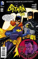 Batman '66 #1:Enter The Sandman! Superhero Swapper by BostonBrand1