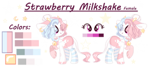 --Commission Strawberry Milkshake--