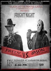 Freddy vs. Jason by GDMonster