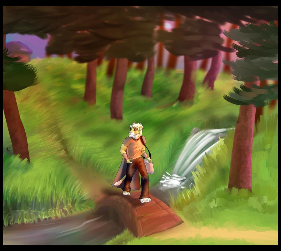 Forest by LasochkaFier