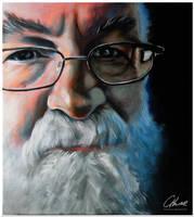 Sir Terry Pratchett by Ktuluuu