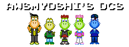 8-bit AwsmYoshi's OCs by Juliannb4