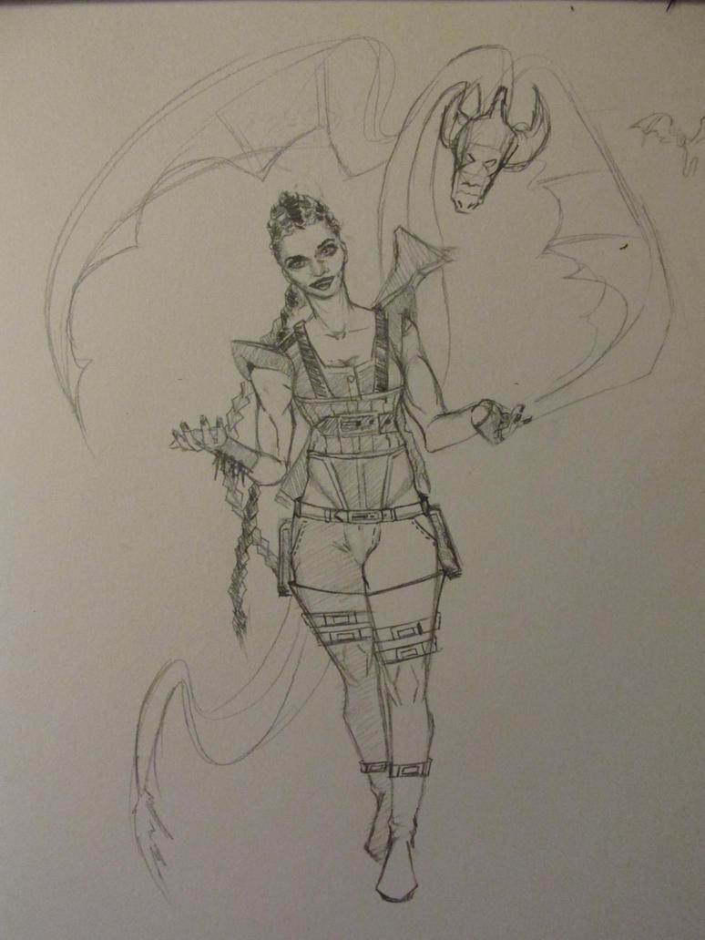 Random Sketch 12 by UpDownReverse