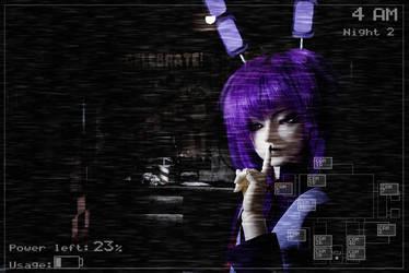 cosplay_Bonnie from FNAF1