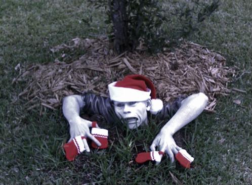 Christmas Zombie I by katsanger