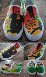 All Time Low Shoes v. 2.0 by checkTHISjuliet