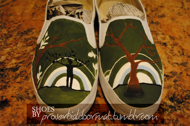 'Even the Trees' SHOES by checkTHISjuliet