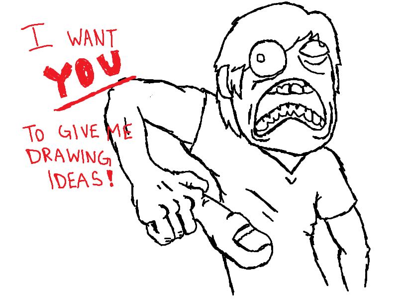 drawing ideas source http dalapoe deviantart com art drawing ideas