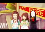 xXX Sen Haku Kaonashi Human World Xxx