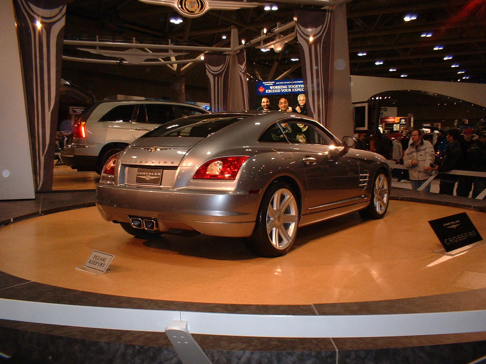 chrysler crossfire pink