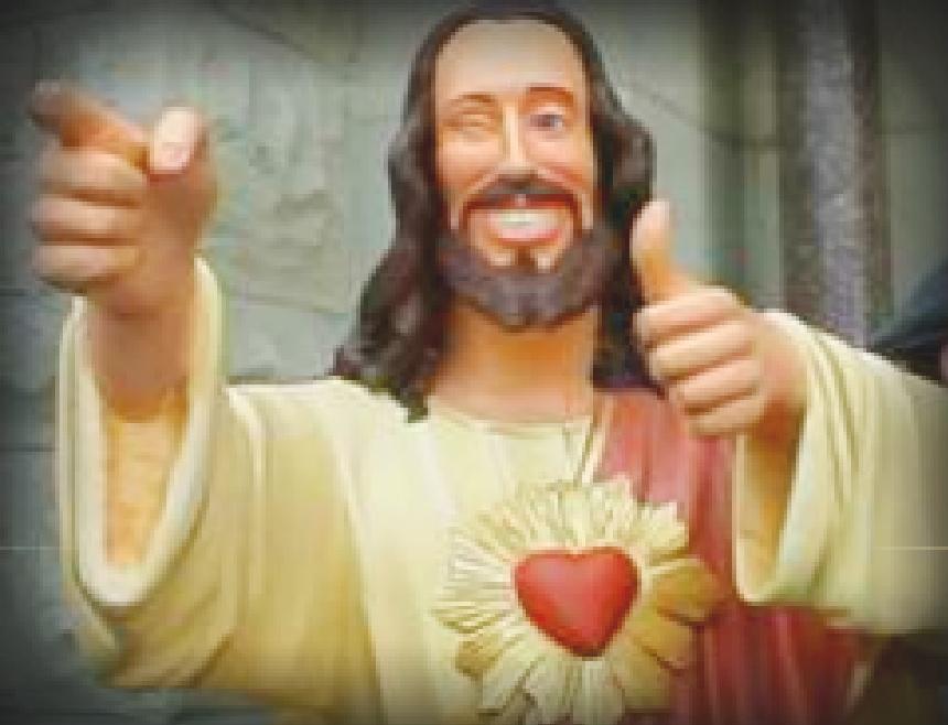 Buddy Christ by EverythingsAllWrong on DeviantArt