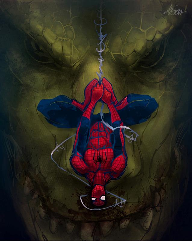 The Amazing Spiderman by Dariyen