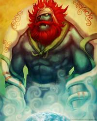 The Lord Of wind: Fujin by Dariyen