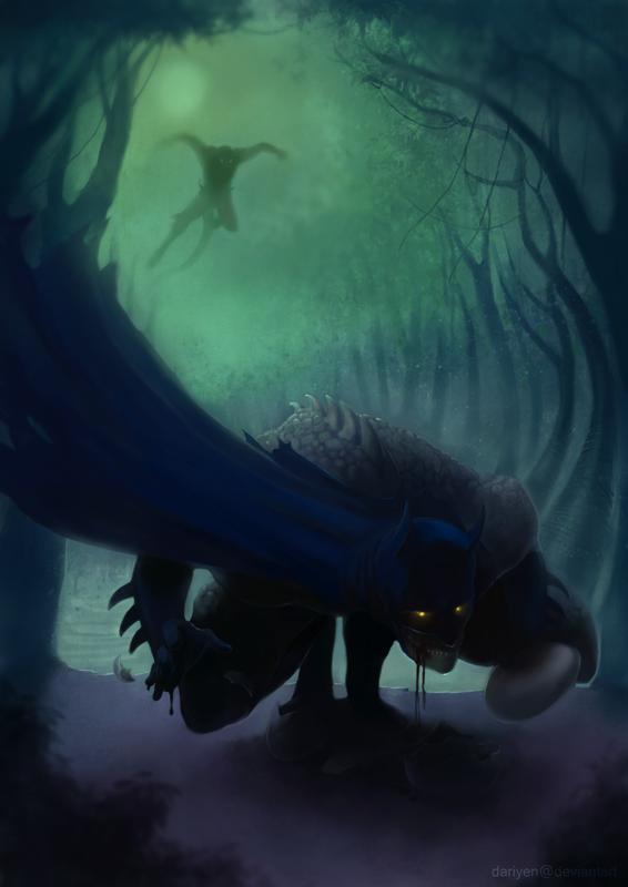 Crazy Bats_Contest one by Dariyen