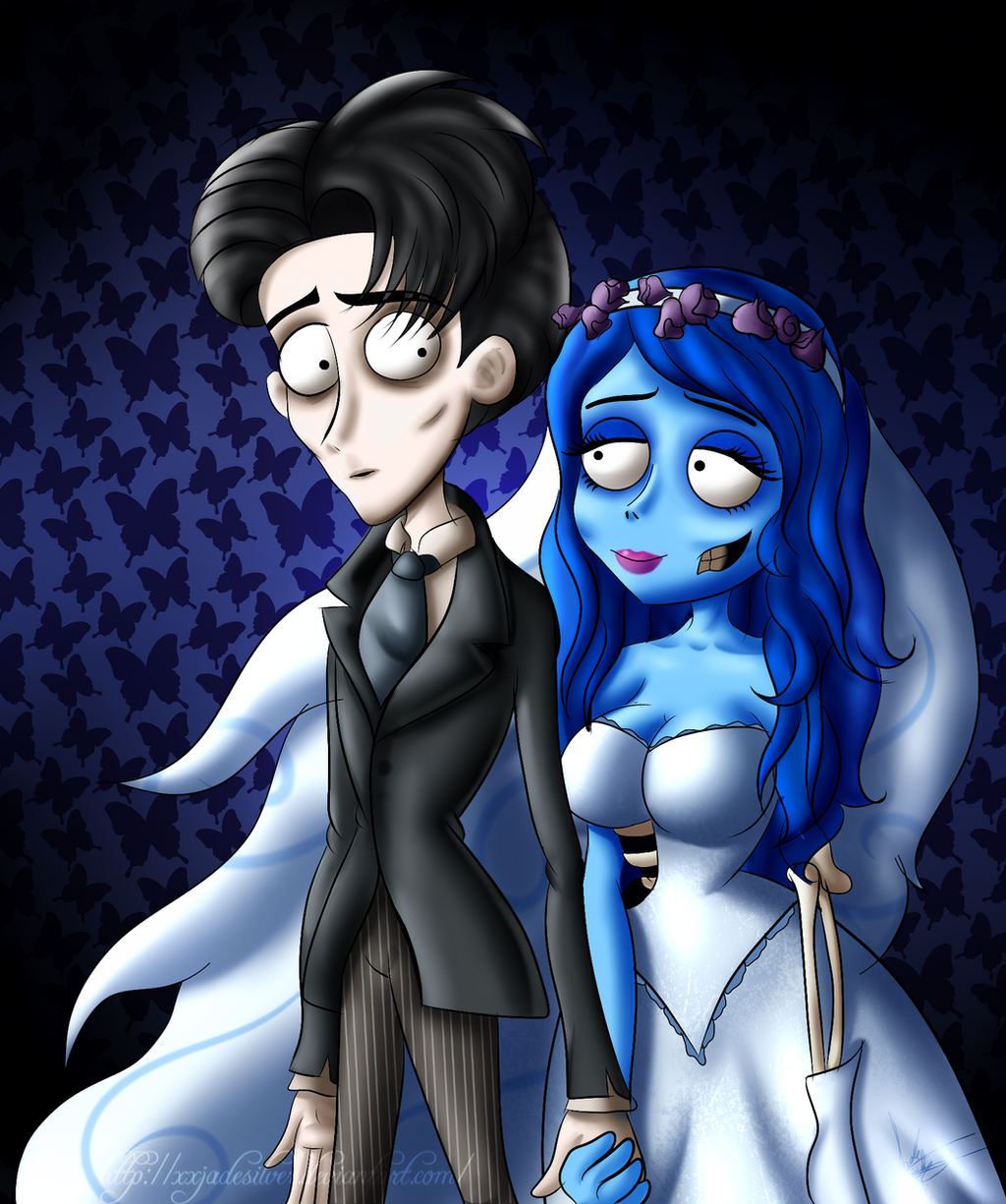 .:Corpse Bride:. Victor and Emily by XxJadeSilver on ...