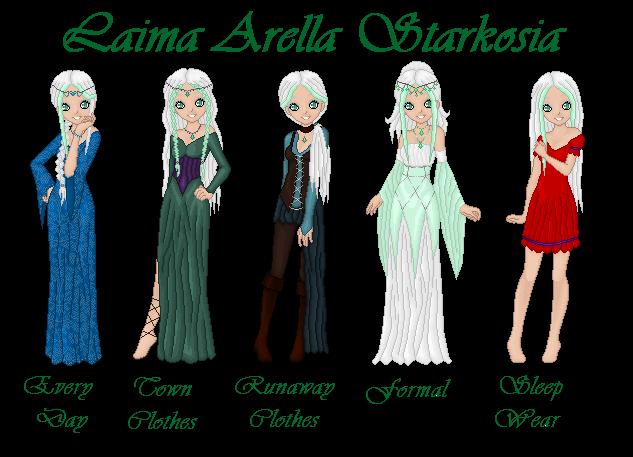 Laima Arella Starkosia by ironwitch