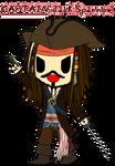 Captain Jack Sparrow Tokidoki