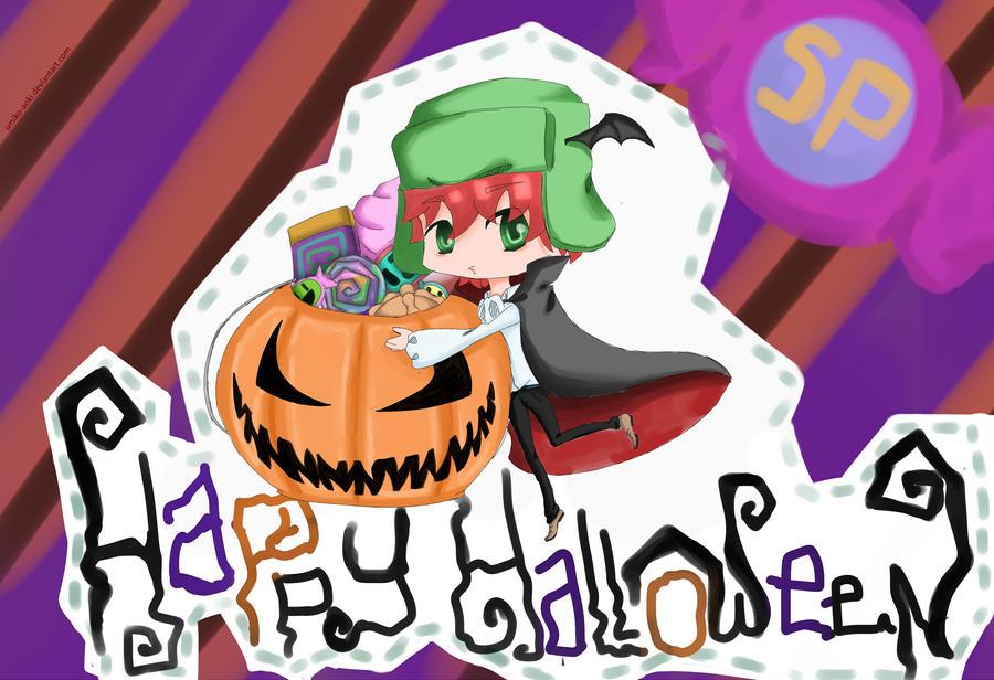Halloween with Kyle by Umiko-Aoki
