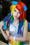 First Cosplay: Rainbow Dash
