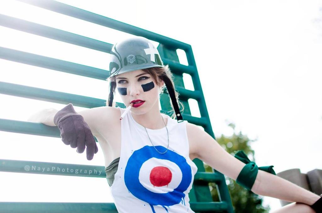Tank Girl - Downtime by MeganCoffey