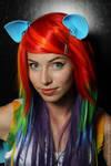 Rainbow Dash Headshot