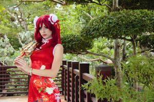 Maki - Qipao IX by MeganCoffey